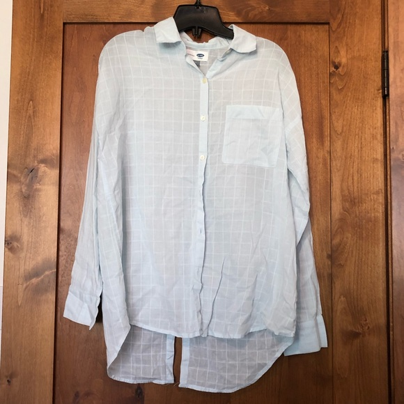 Old navy boyfriend blouse
